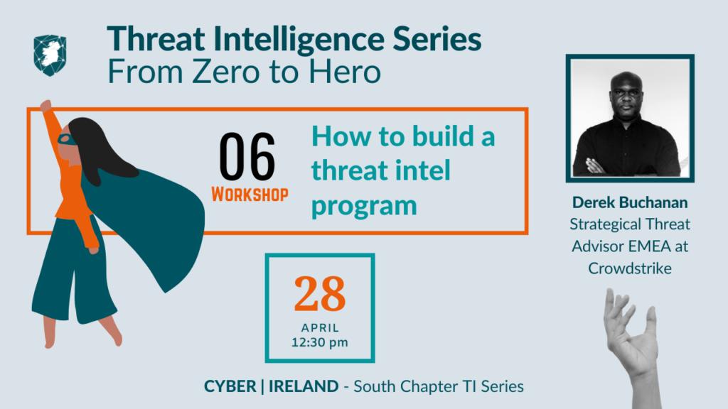 TI Series 6 - threat intel program
